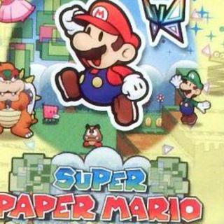 ウィー(Wii)のスーパーペーパーマリオ(家庭用ゲームソフト)
