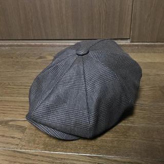 ラブレス(LOVELESS)のLOVELESS グレンチェックハンチング(ハンチング/ベレー帽)