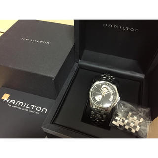 ハミルトン(Hamilton)のハミルトンHAMILTONジャズマスタービューマチック自動巻付属品ギャランティ有(腕時計(アナログ))