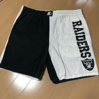 ナイキ(NIKE)のSTARTER ハーフパンツ NFL RAIDERS (ショートパンツ)