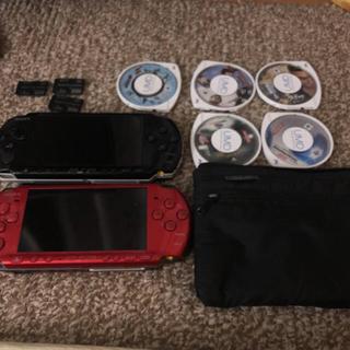 プレイステーションポータブル(PlayStation Portable)のPSP 3000 2台(携帯用ゲーム本体)
