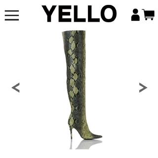 イエローブーツ(Yellow boots)のyello ロングブーツ 値下げしました!(ブーツ)