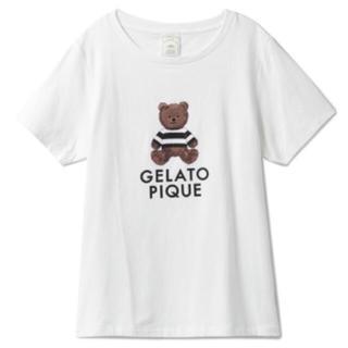 gelato pique - ジェラートピケ ♡ テディベアTシャツ