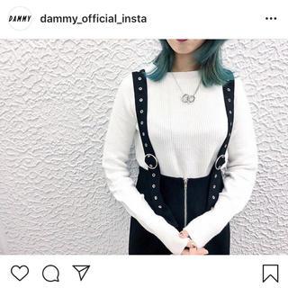 ダミー(DAMMY)の《 DAMMY 》2WAYアイレットベルトスカート(ロングスカート)