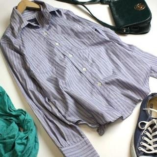 GALLARDA GALANTE - ガリャルダガランテ ストライプシャツ長袖シャツ