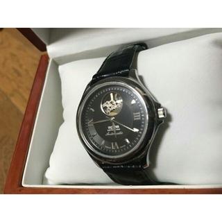 エポス(EPOS)の美品 EPOSエポス 3323 自動巻 オープンハート(腕時計(アナログ))