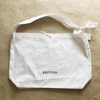エディション(Edition)のedition ショッパー ショップ袋 バッグ エコバッグ トート ショルダー(ショップ袋)