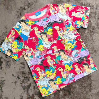 Disney - ディズニー アリエル Tシャツ M
