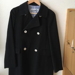 アングローバルショップ(ANGLOBAL SHOP)の濃紺 Pコート風ジャケット 美品(テーラードジャケット)