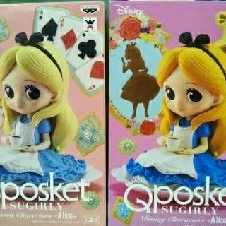ディズニー(Disney)のQ posket SUGIRLY Disney -Alice-アリス フィギュア(アニメ/ゲーム)