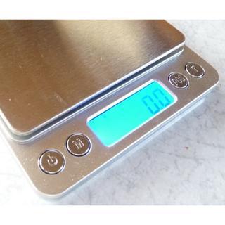 0.1g~3000g ステン デジタル  スケール ハカリ 電池付