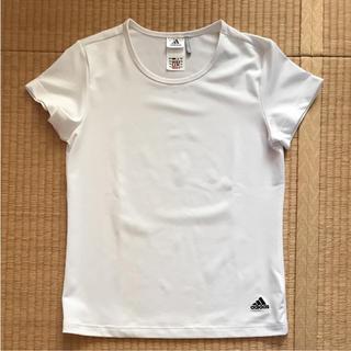 アディダス(adidas)の⭐️美品⭐️アディダスTシャツレディース Lサイズ (Tシャツ(半袖/袖なし))