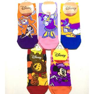 ディズニー(Disney)のディズニー ソックス 5足セット フクスケ製(ソックス)