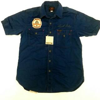 トイズマッコイ(TOYS McCOY)のトイズマッコイ  シェルビーコブラ メカニックシャツ 半袖ワークシャツ 15 M(シャツ)