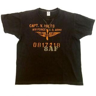 トイズマッコイ(TOYS McCOY)のTOYS McCOY トイズマッコイ Tシャツ ヒルツ大尉 V.HILTS L(Tシャツ/カットソー(半袖/袖なし))