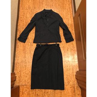 ボールジィ(Ballsey)のBallsey 紺ストライプ シャツスーツ(スーツ)