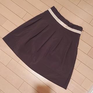 イング(INGNI)のINGNIのウエストリボンのフレアースカート☆ クリーニング済み☆イング(ひざ丈スカート)