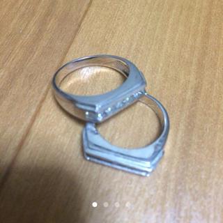 アヴァランチ(AVALANCHE)のavalanche / ホワイトゴールド セット(リング(指輪))