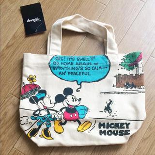 Disney - 新品 ミッキー ミニー トートバッグ