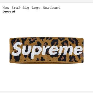シュプリーム(Supreme)の【オンライン購入】New Era® Big Logo Headband 豹柄(ヘアバンド)
