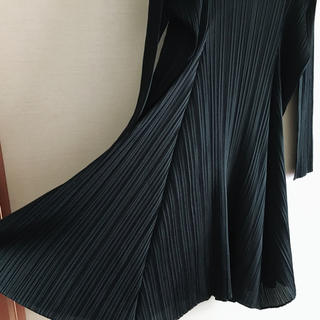 PLEATS PLEASE ISSEY MIYAKE - PLEATS PLEASE フレアワンピース