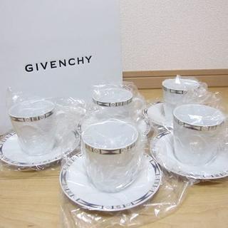 新品 GIVENCHY ジバンシー カップ&ソーサー5客セット コーヒーセット