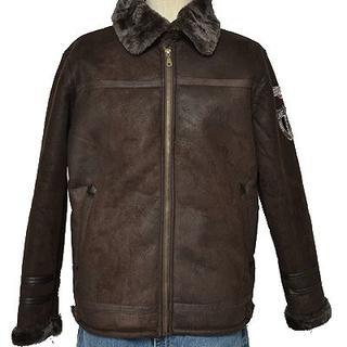 ◆JUST WIN◆sizeM flight jacket brown(フライトジャケット)