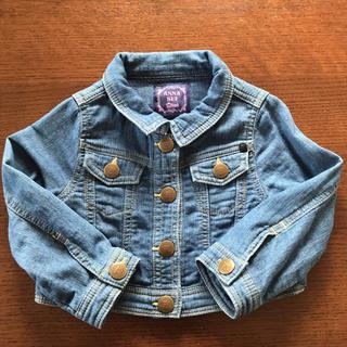 アナスイミニ(ANNA SUI mini)のアナスイミニ☆デニムジャケット サイズ80〜95 美品(ジャケット/上着)