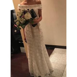 ウェディング ドレス ソフトマーメイド ホワイト