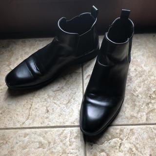 ザラ(ZARA)のレザーアンクルブーツ(ブーツ)
