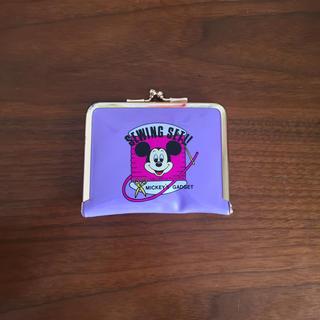 ディズニー(Disney)のレトロなミッキーマウスのソーイングセット お裁縫セット(日用品/生活雑貨)