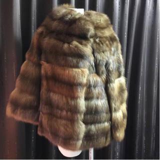 シャネル(CHANEL)の最高峰 ロシアンセーブル ハーフコート 美品 レア 肉厚 幻(毛皮/ファーコート)