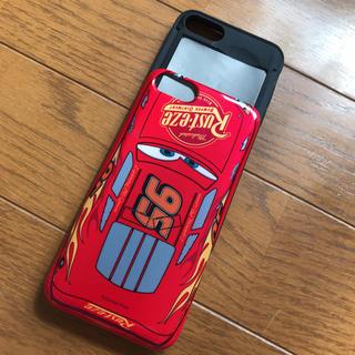 ディズニー(Disney)のカーズ マックイーン iPhone7 8 カード収納付き iPhoneケース(iPhoneケース)