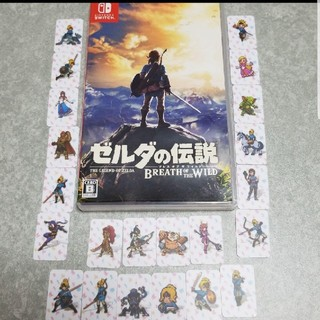 ニンテンドースイッチ(Nintendo Switch)のニンテンドースイッチ ゼルダの伝説 全22種アミーボカード付き(家庭用ゲームソフト)