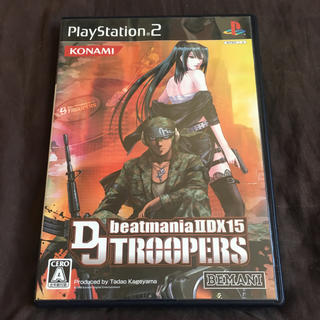 コナミ(KONAMI)のps2 ビートマニアIIDX15 DJ TROOPERS(家庭用ゲームソフト)