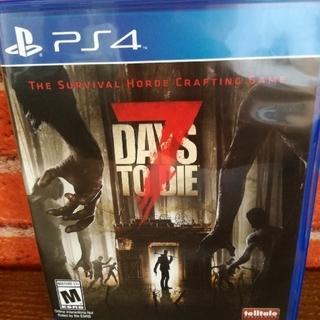 プレイステーション4(PlayStation4)の7days to die 北米版(家庭用ゲームソフト)