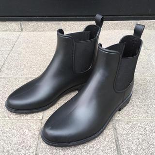 ハンター(HUNTER)のレインブーツ  黒  Sサイズ(レインブーツ/長靴)