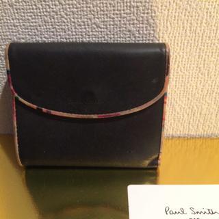 ポールスミス(Paul Smith)の本物 ポールスミス メンズ 黒 財布 正規品(折り財布)