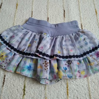 アナスイミニ(ANNA SUI mini)のアナスイミニ 2018SS 完売 花柄キュロット 110 美品(スカート)