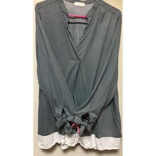 しまむら - ★大きいサイズ★ストライプ長袖