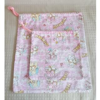 ジュエルペット(ジュエルペット)の巾着袋☆ジュエルペット☆大小セット(その他)