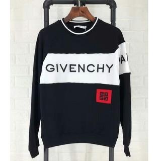 ジバンシイ Givenchy ロゴ付き スウェット パーカー Mサイズ 黒い