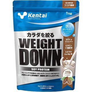 ケンタイ(Kentai)の新品 kentai ソイプロテイン ウエィトダウン ココア味 1kg(エクササイズ用品)