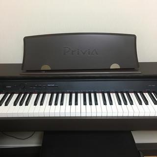 カシオ(CASIO)のCASIO 電子ピアノ Privia PX-750 カシオ ブラウン プリヴィア(電子ピアノ)