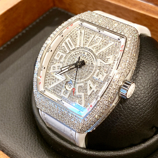 フランクミュラー(FRANCK MULLER)のFRANCKMULLER フランクミュラー ヴァンガード デイト アフターダイヤ(腕時計(アナログ))