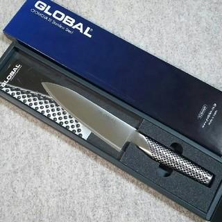 グローバル(GLOBAL)のグローバル(GLOBAL)/包丁・牛刀・ナイフG58(刃渡り16cm):新品(調理道具/製菓道具)