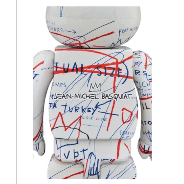 MEDICOM TOY(メディコムトイ)のBE@RBRICK JEAN-MICHEL BASQUIAT #2 1000% エンタメ/ホビーのフィギュア(その他)の商品写真