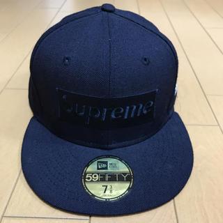 シュプリーム(Supreme)のsupreme tonal box logo キャップ 美品(キャップ)