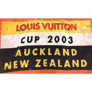 ルイヴィトン(LOUIS VUITTON)のルイヴィトン ルイヴィトンカップ タオル 新品 本物(タオル/バス用品)