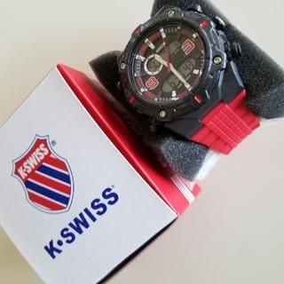 ケースイス(K-SWISS)の【新品未使用】K・SWISS メンズ 腕時計(腕時計(アナログ))